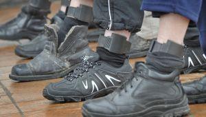 Электронные браслеты для заключённых